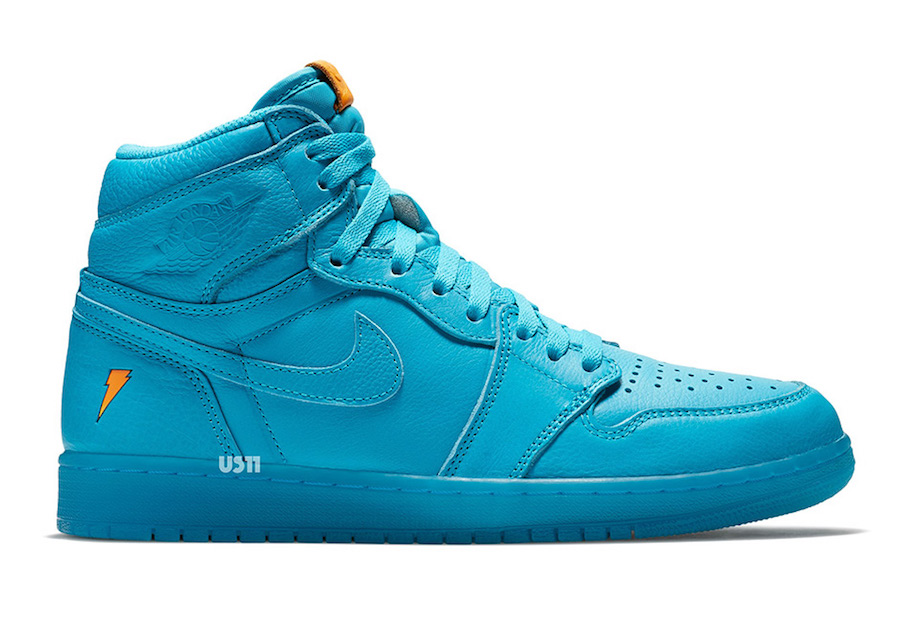 Air Jordan 1 Gatorade Blue Lagoon December 2017
