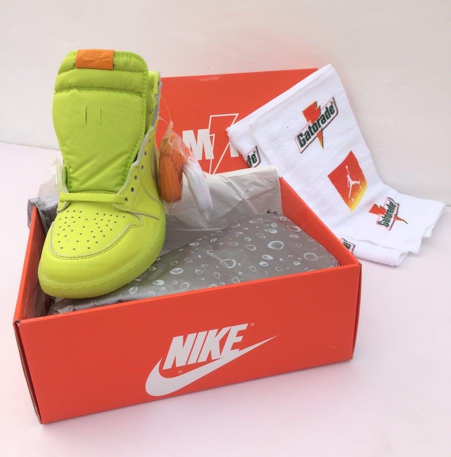 sale retailer 84033 b5e8d Air Jordan 1 Gatorade Cyber Aj5997 345 Sneakers