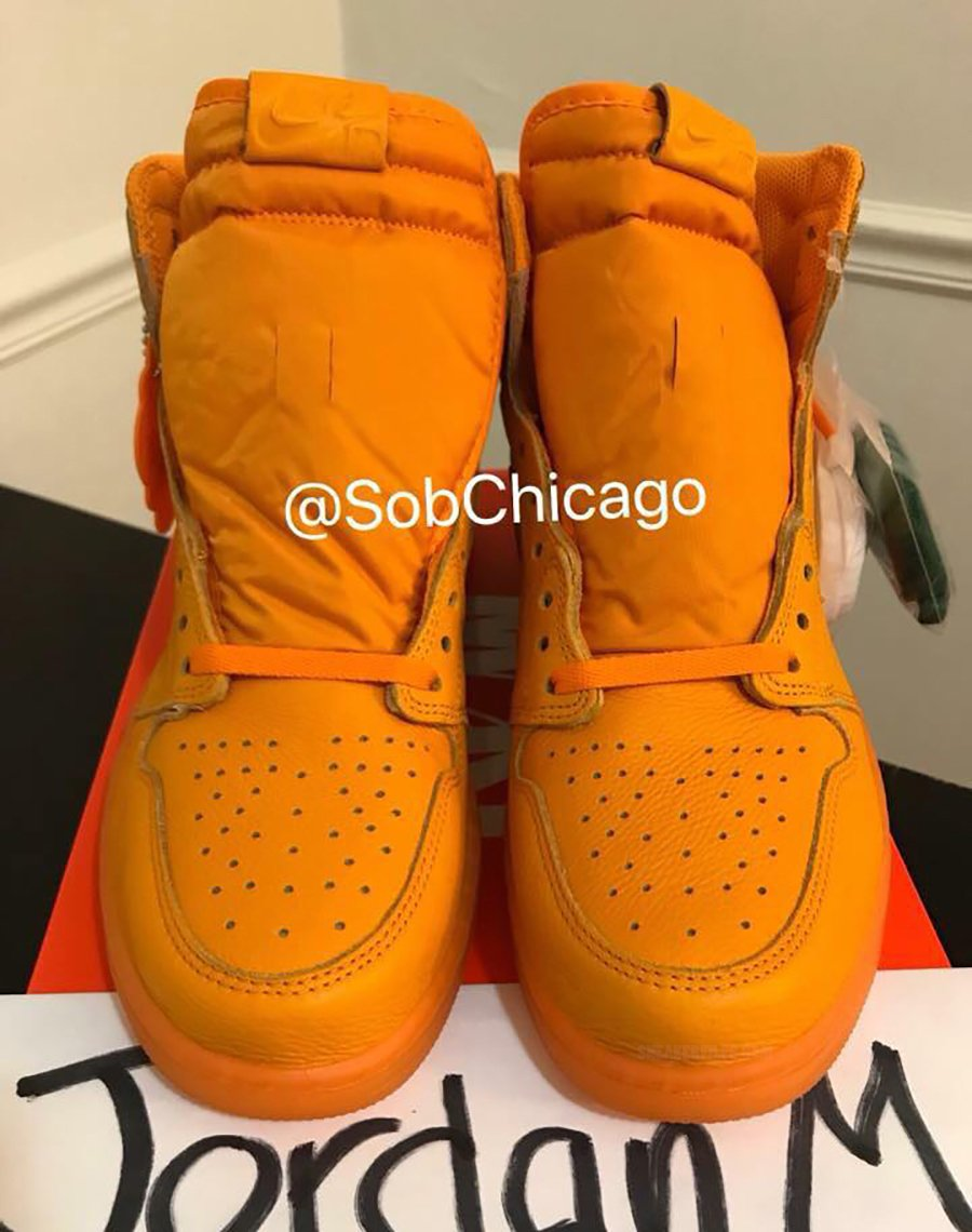 Air Jordan 1 Gatorade Orange Peel AJ5997-880 Release Date 9823ebd4b