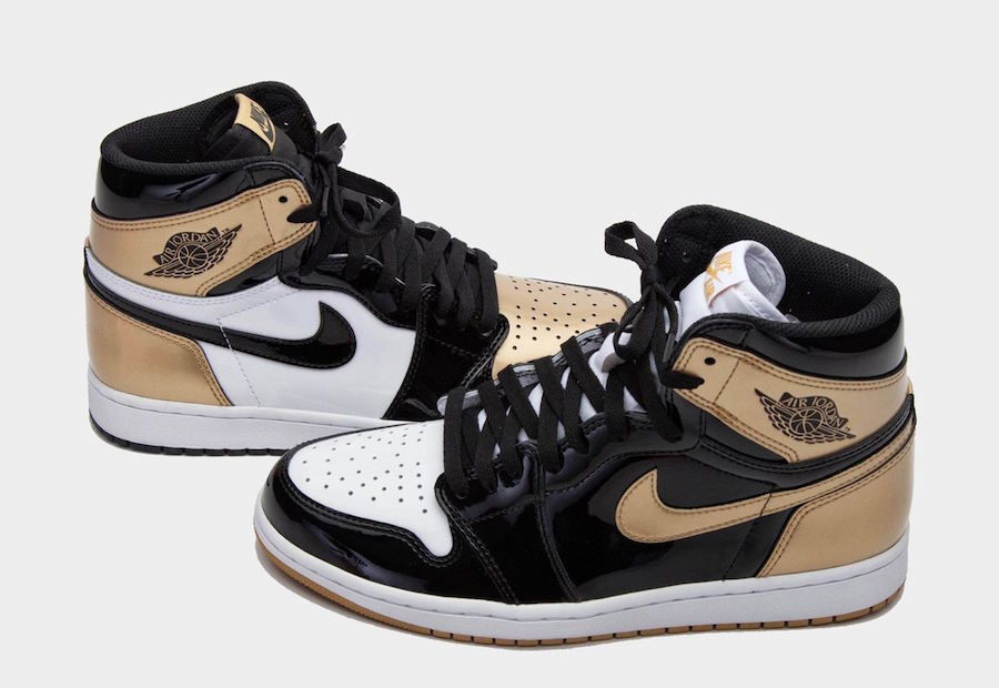 Air Jordan 1 Gold Top 3 All-Star 2018 861428-001