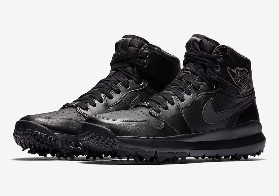 Air Jordan 1 Golf Premium Black AH2114-001