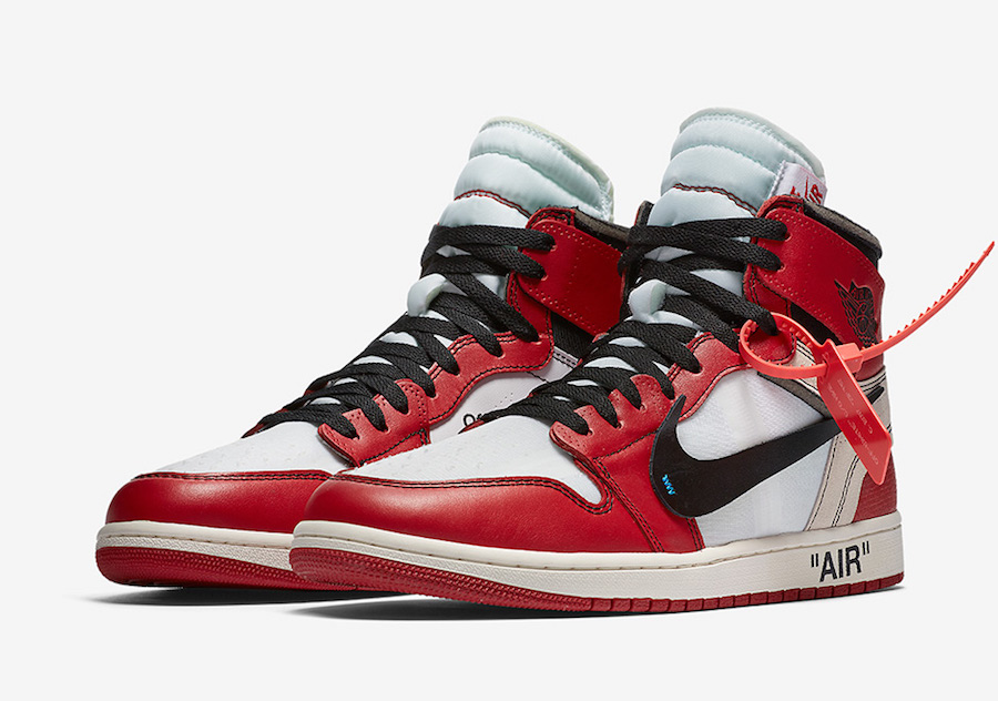 Air Jordan 1 Off-White The Ten AA3834-101