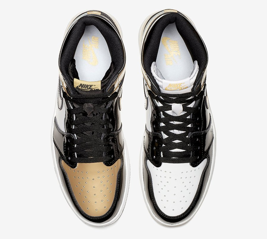 ba86db7665bb Air Jordan 1 Gold Top 3 861428-001 Release Date
