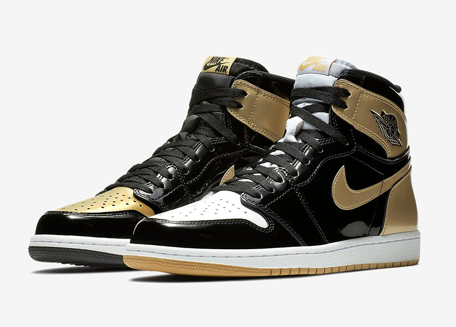 huge selection of 2a561 03d37 Air Jordan 1 Gold Top 3 861428-001 Release Date | SneakerFiles