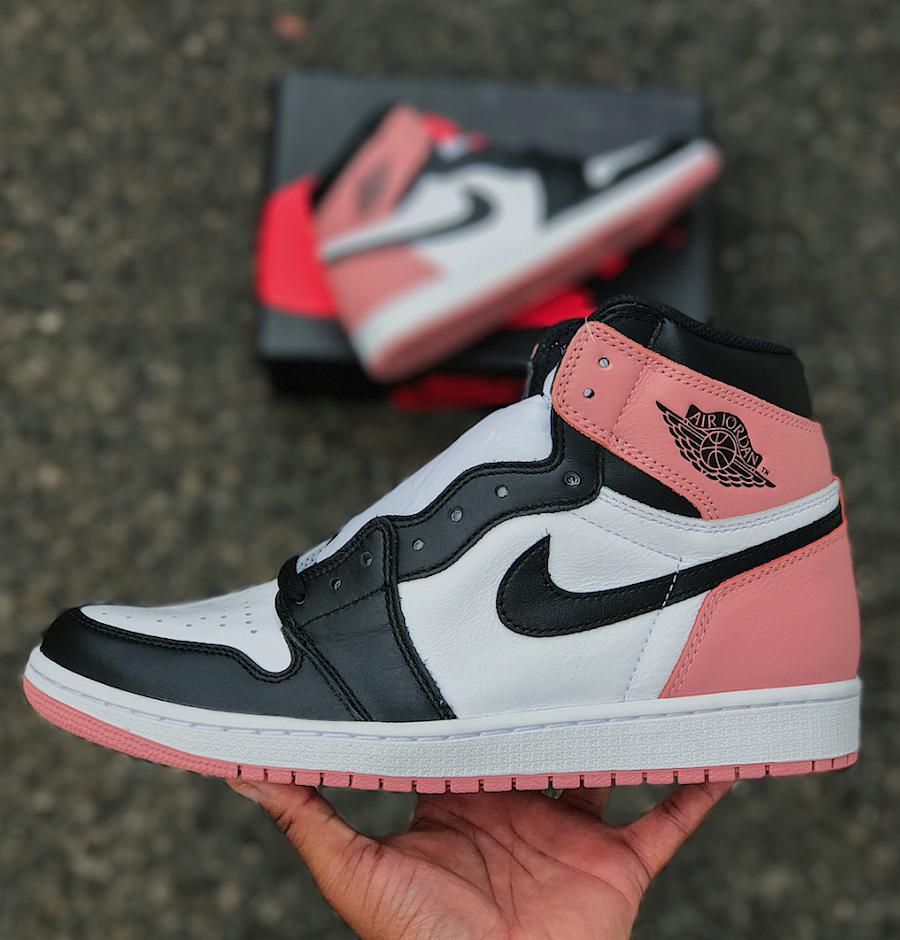 Air Jordan 1 OG Rust Pink 861428-101