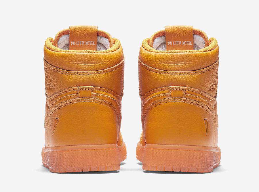Air Jordan 1 Orange Gatorade AJ5997-880