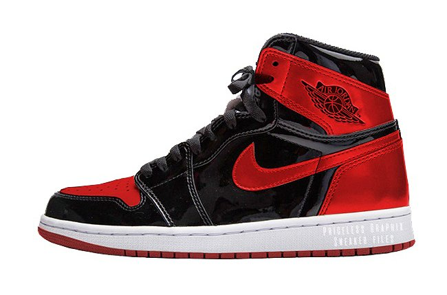 Air Jordan 1 Patent Leather Banned Bred 861428-061