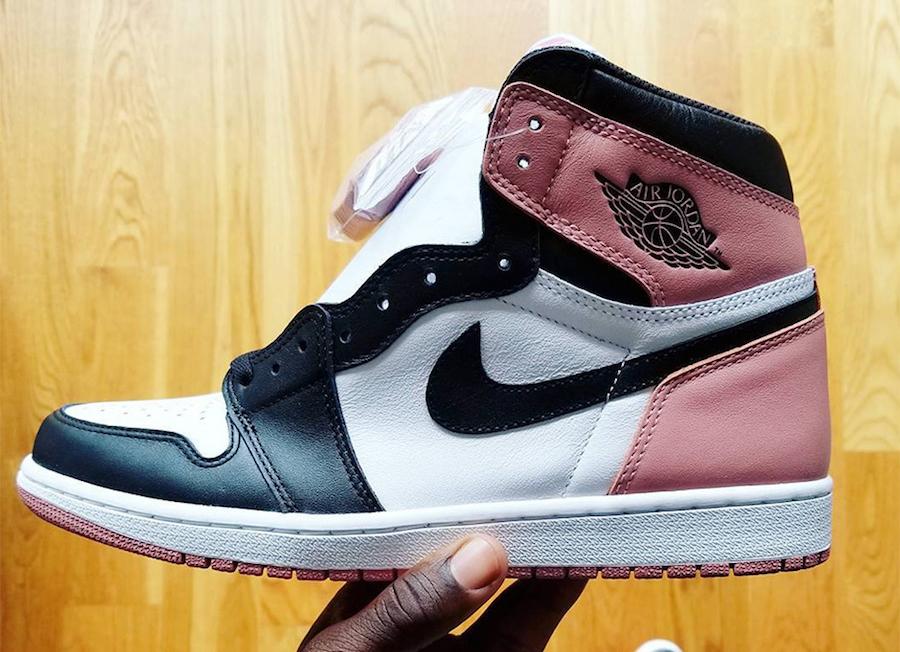 Air Jordan 1 Rust Pink 861428-101