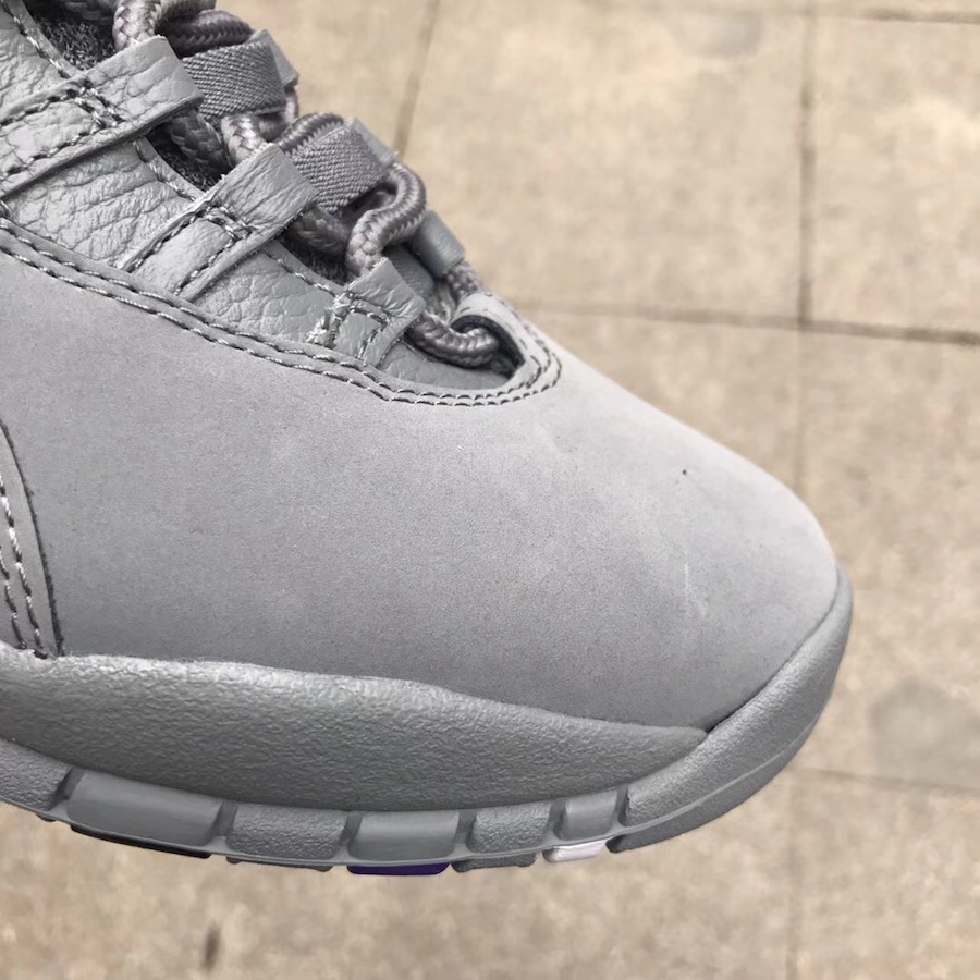 Air Jordan 10 Cool Grey Multicolor