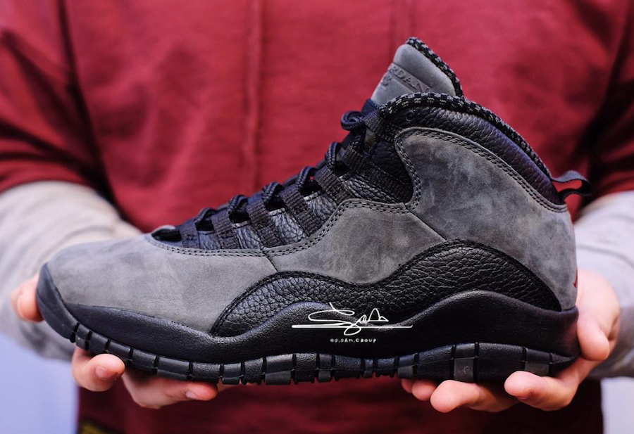 Air Jordan 10 Dark Shadow 310805-002 2018