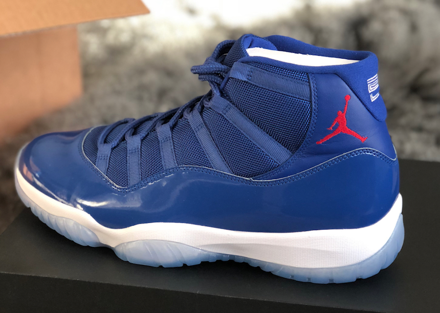 Air Jordan 11 Cubs Championship Pack