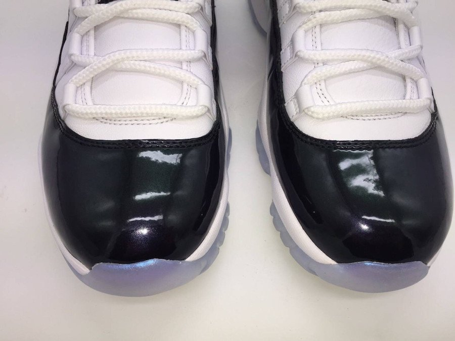 Air Jordan 11 Low Easter Emerald Rise White Black