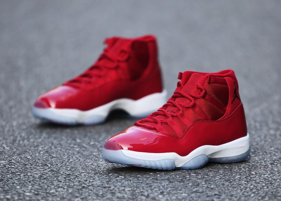 Air Jordan 11 Red Win Like 96 Chicago
