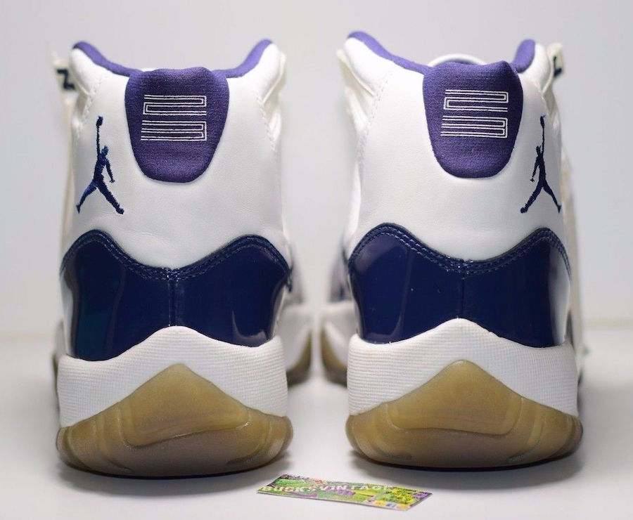 Air Jordan 11 Twilight Blue Sample 2000