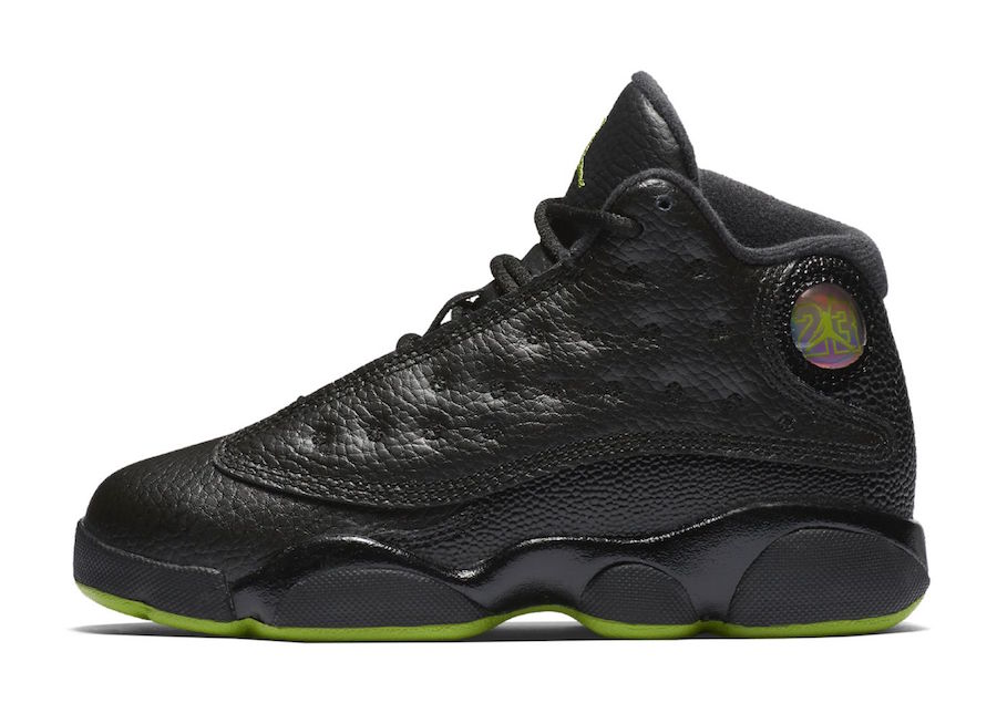 sports shoes 40b91 23c40 Air Jordan 13 Altitude Black Green 2017 Release Date ...