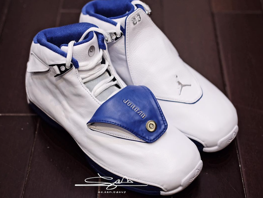 Air Jordan 18 Retro Sport Royal