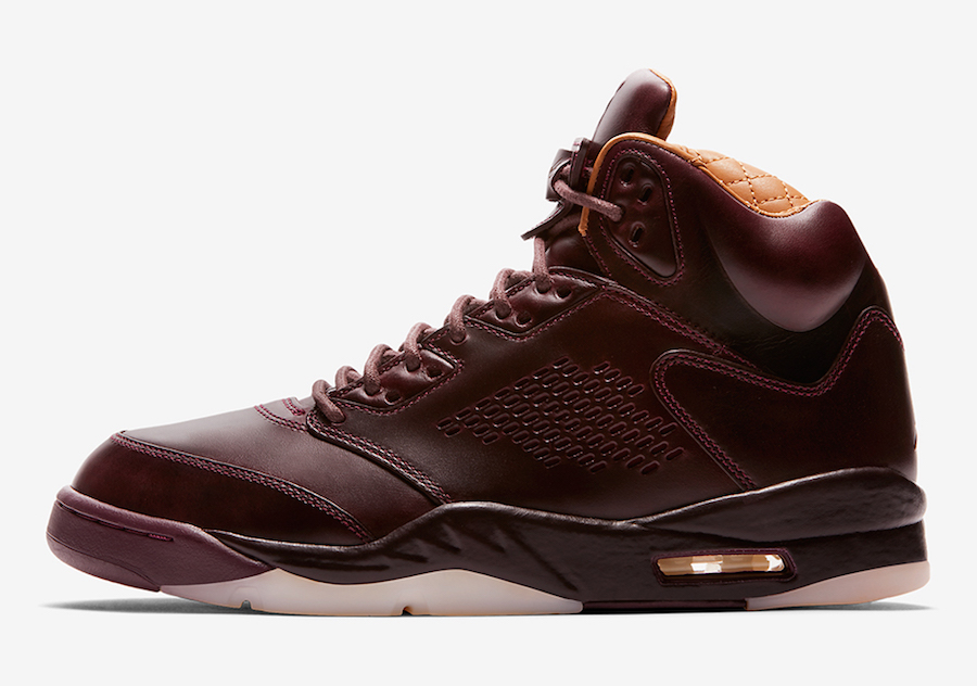 Air Jordan 5 Premium Bordeaux December 2017