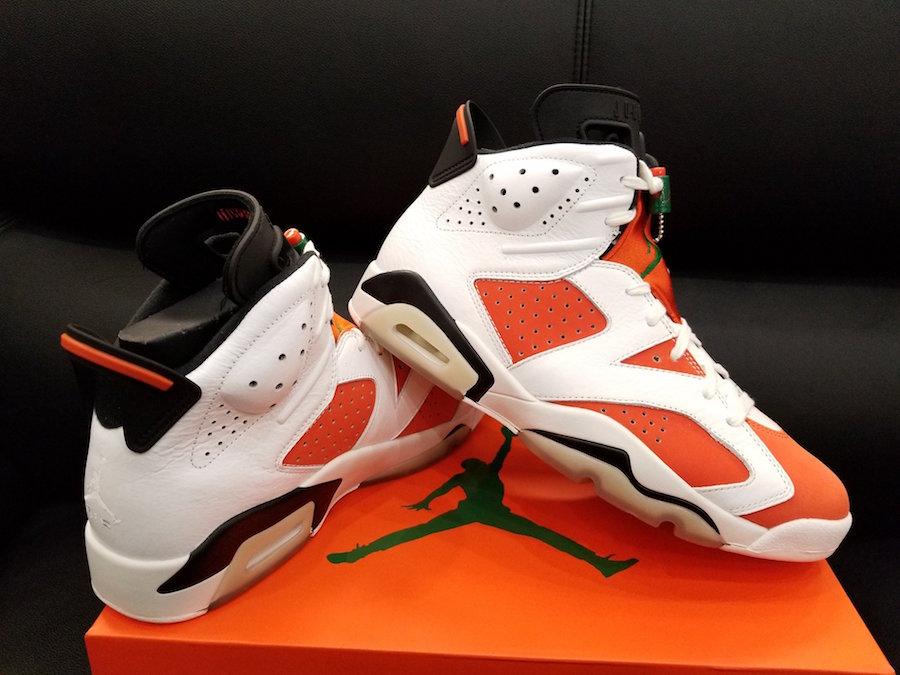 Air Jordan 6 Like Mike 384664-145 Gatorade