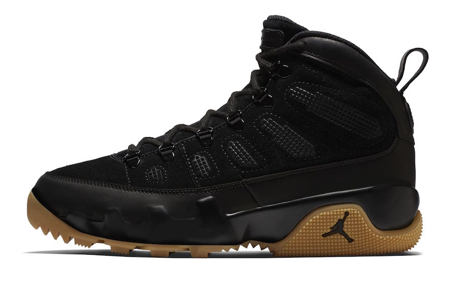 Air Jordan 9 Boot Black Gum AR4491-025