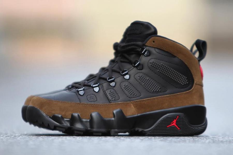 Air Jordan 9 Boot Olive AO4690-012 Release Date