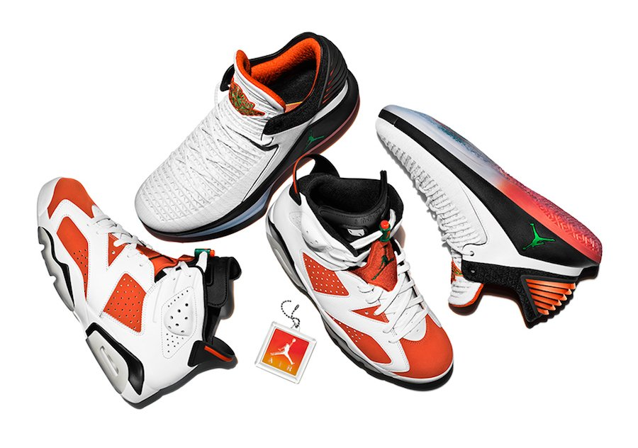 Air Jordan Like Mike Gatorade Collection