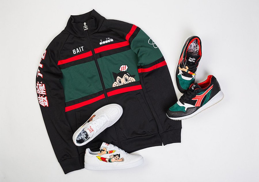 BAIT Diadora Astro Boy Collection