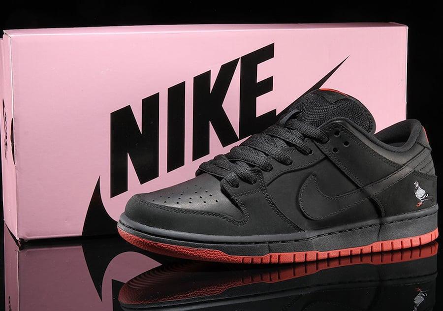 Nike SB Dunk Low Pigeon Black 883232