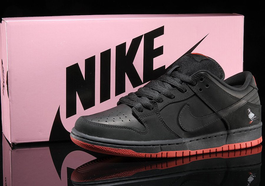 Black Pigeon Nike SB Dunk Low