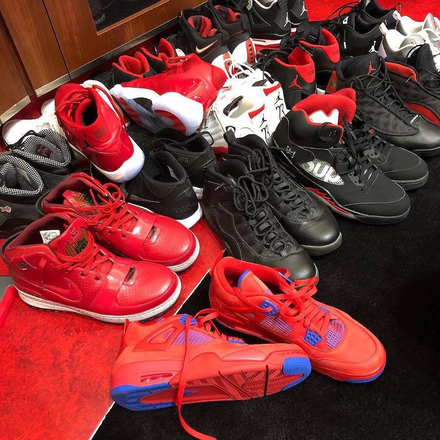 Chris Paul Air Jordan 4 Clippers PE