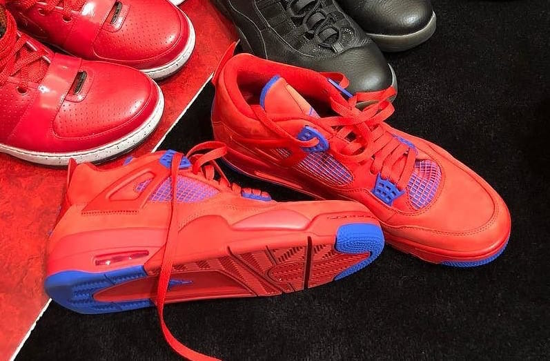 Check Out Chris Paul's Air Jordan 4 Clippers PE
