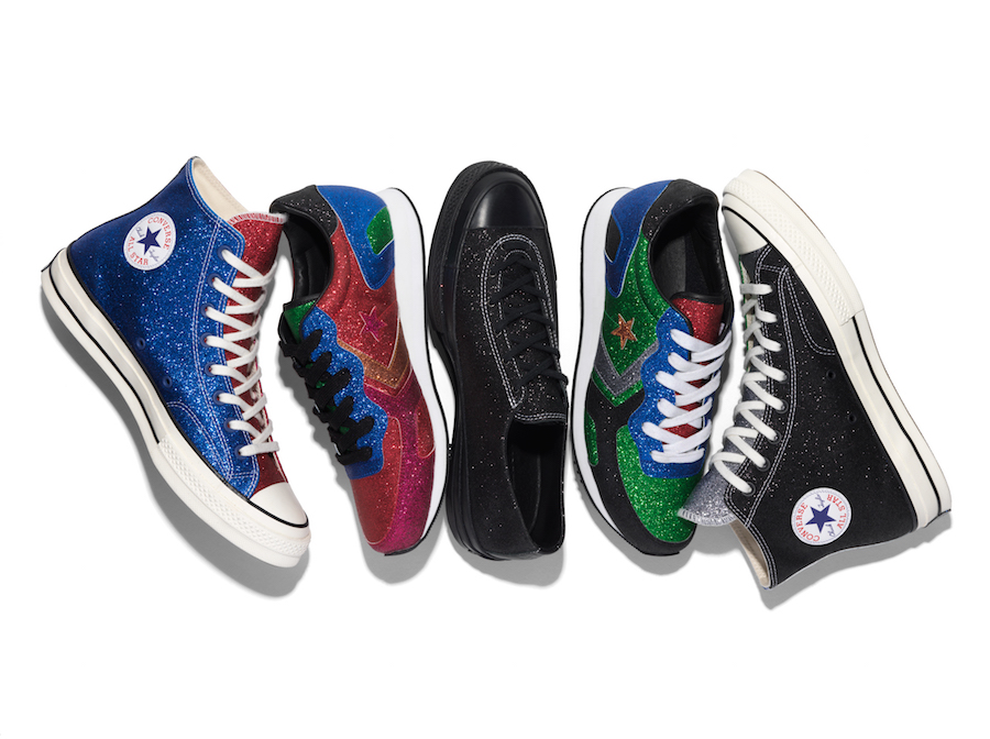 Converse JW Anderson Glitter Collection