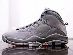 Cool Grey Air Jordan 10 310805-022
