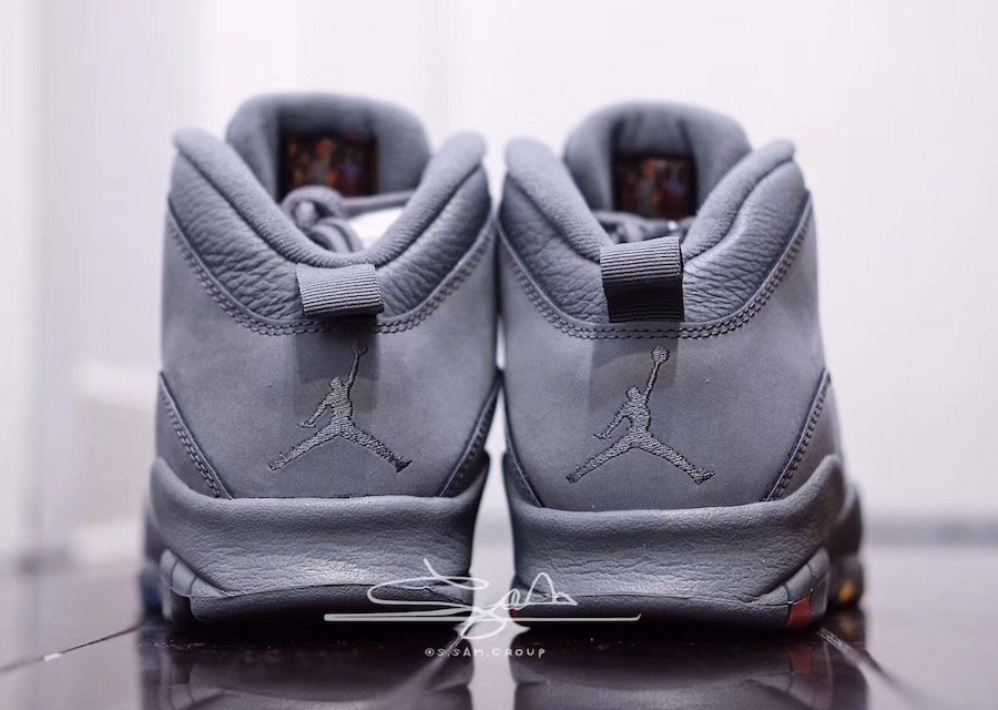 Cool Grey Air Jordan 10 310805-022