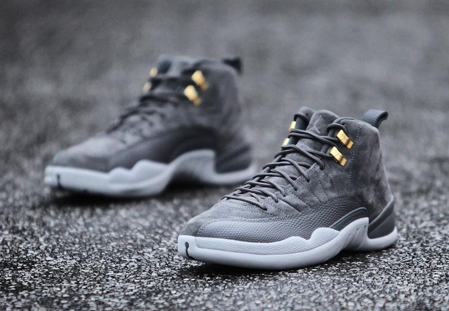 008c73883f475 Air Jordan 12 Dark Grey 130690-005 Release Date | SneakerFiles