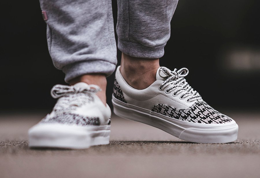 Fear of God Vans Era Collection