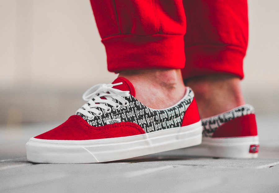 f82c0f52a1c Fear of God x Vans Collection 2 Release Date