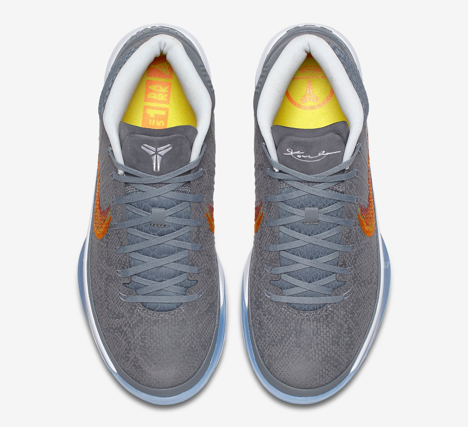 Grey Snake Nike Kobe AD