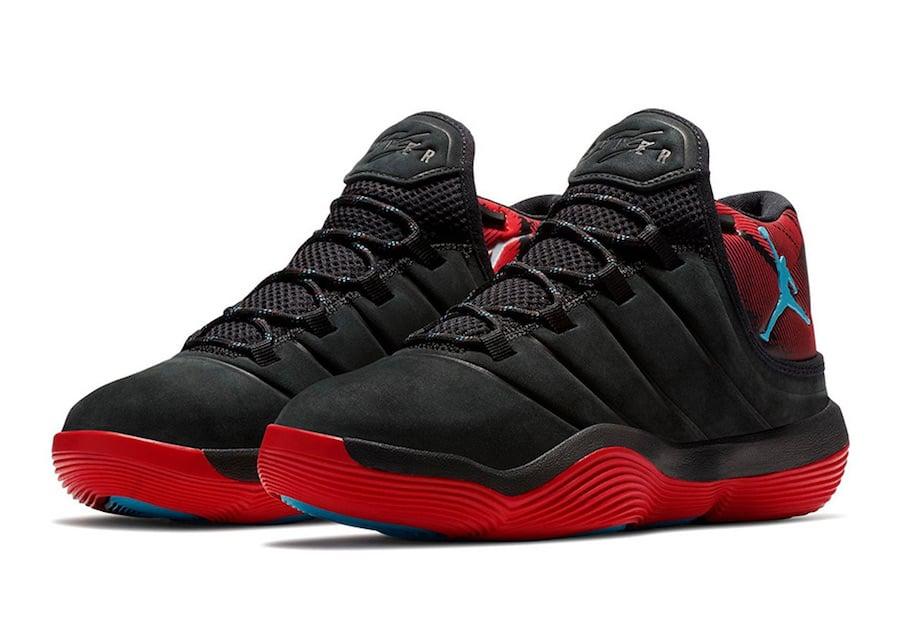 Jordan Super Fly 2017 N7 Black Red