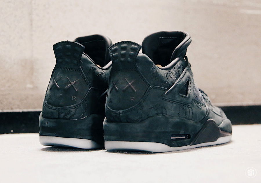 KAWS Air Jordan 4 Black Cyber Monday 930155-001