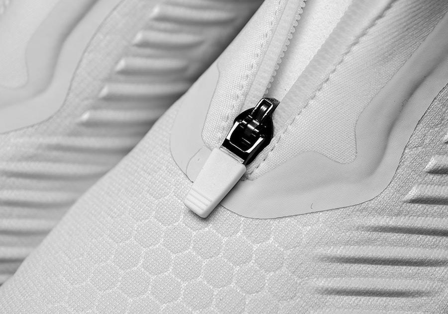 KITH adidas AlphaBounce Zip Crystal White DA9707
