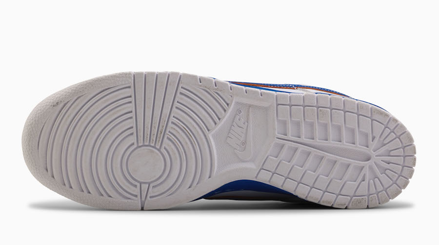 Medicom Toy Nike SB Dunk White Blue Orange