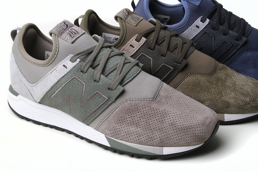 New Balance 247 Luxe Suede Pack