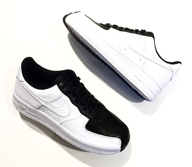 Nike Air Force 1 07 Premium Yin Yang Black White 905345-004