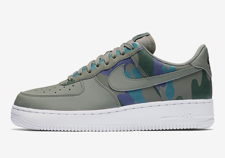 Nike Air Force 1 Low Country Camo 823511-008