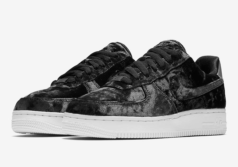 Nike Air Force 1 Low Velvet Black 896185-003