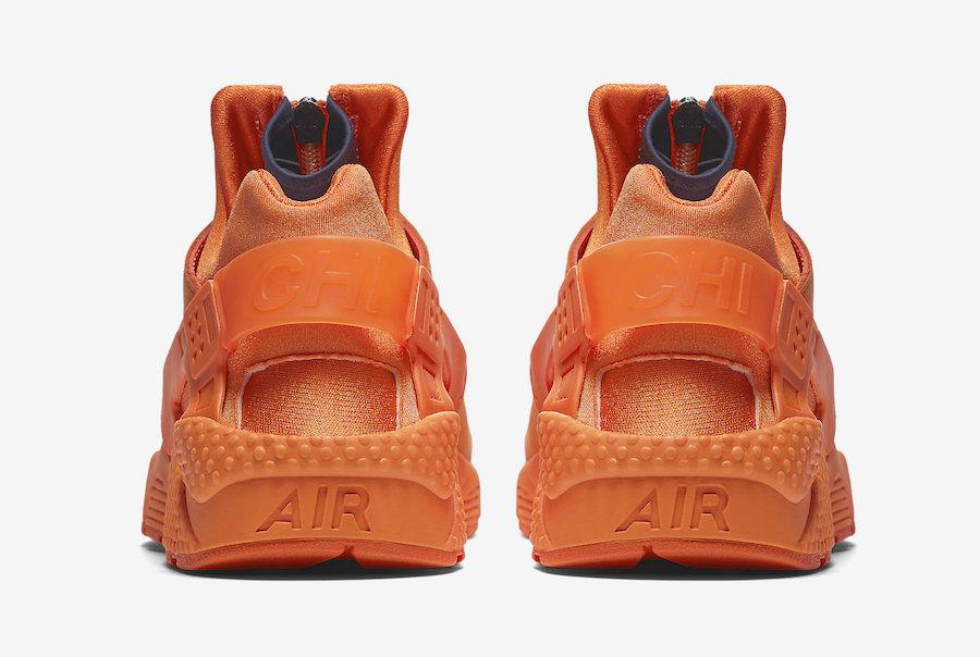 550cefa2a5c Nike Air Huarache Chicago Orange AJ5578-800