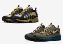 Nike Air Humara Black Maize Yellow Medium Olive
