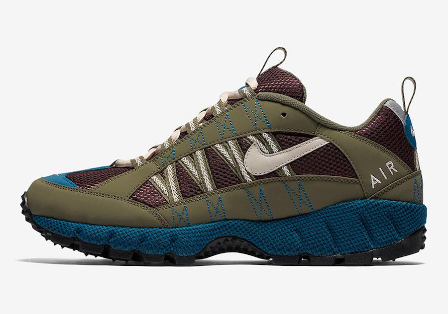 Nike Air Humara Medium Olive Desert Sand Deep Burgundy AJ1102-200