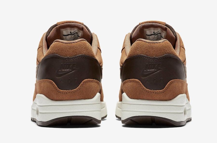 Nike Air Max 1 Premium Leather Ale Brown AH9902-200