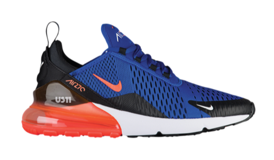 Nike Air Max 270 Orange Blue